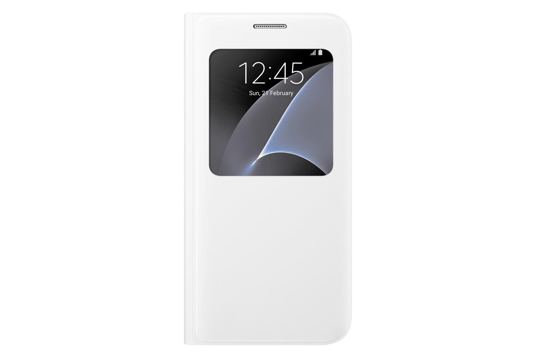 EF-CG930PWE Samsung S-View Pouzdro White pro G930 Galaxy S7 (EU Blister)