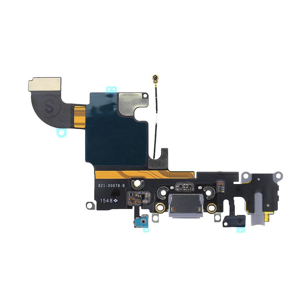 iPhone 6S Flex Kabel vč. Dobíjecího Konektoru Space Grey