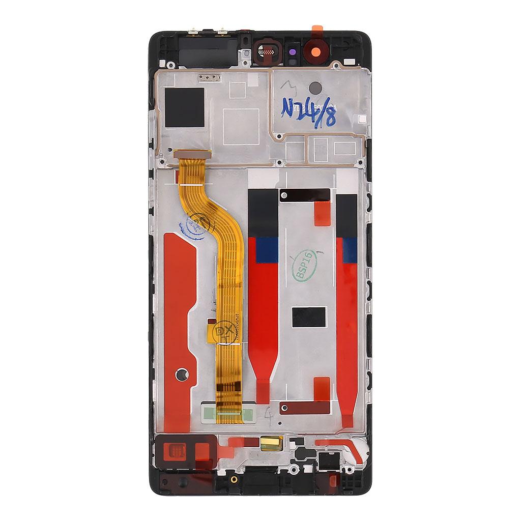 Huawei  P9 LCD Display + Dotyková Deska + Přední Kryt Black