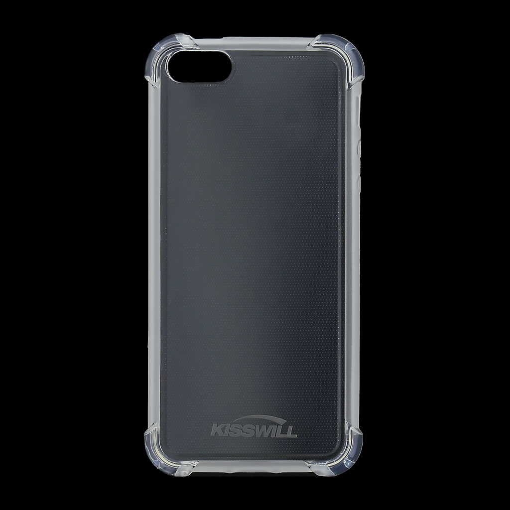 Kisswill Shock TPU Kryt pro iPhone 5/5S/SE Transparent