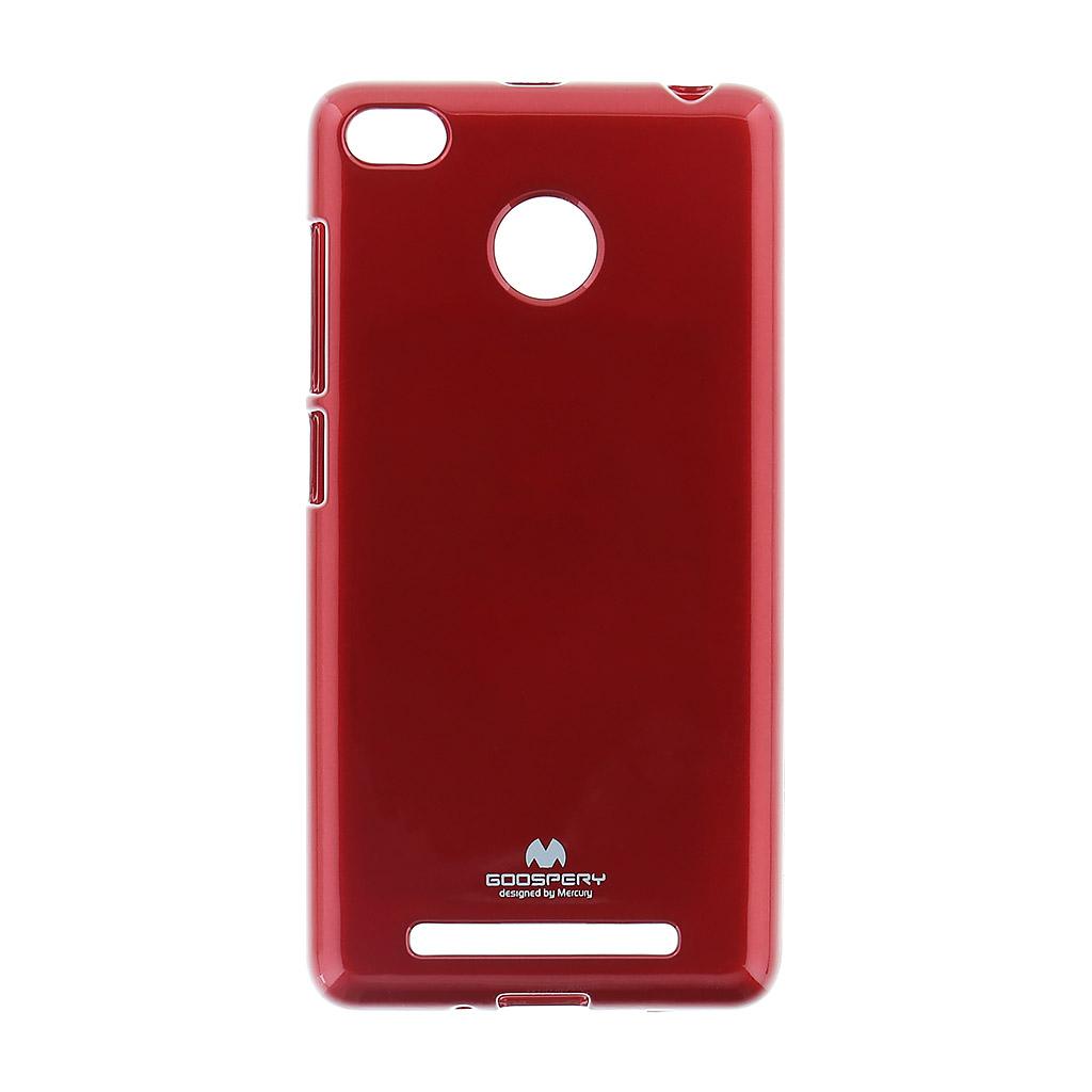 Mercury Jelly Case For Xiaomi Redmi 3 Pro Red