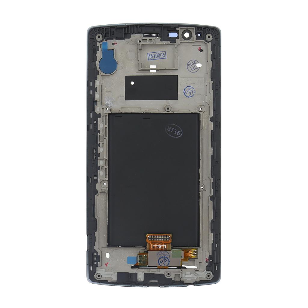 LG H815 G4 LCD Display + Dotyková Deska + Přední Kryt Black