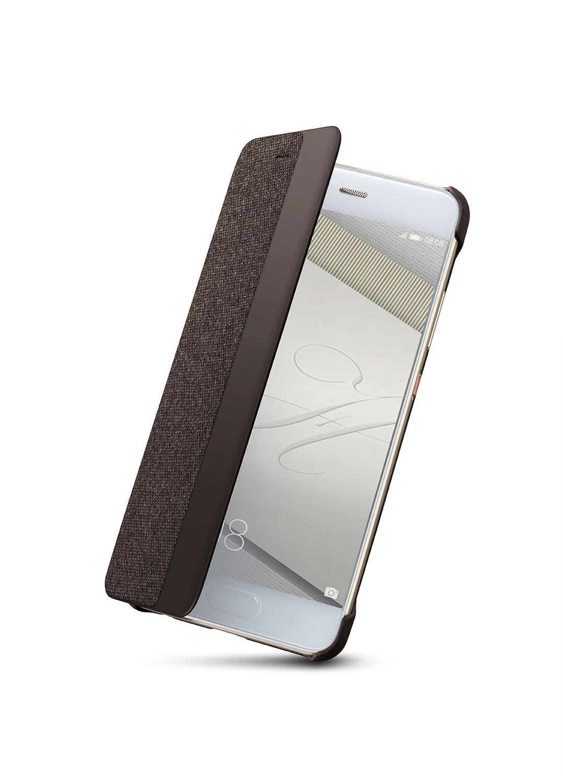 Huawei Original S-View Pouzdro Dark Grey pro P10 (EU Blister)
