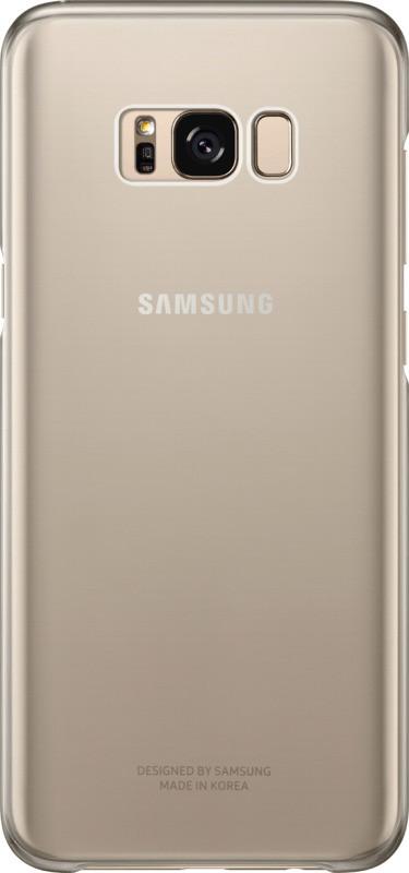 EF-QG955CFE Samsung Clear Cover Gold pro G955 Galaxy S8 Plus (EU Blister)