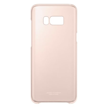 EF-QG955CPE Samsung Clear Cover Pink pro G955 Galaxy S8 Plus (EU Blister)