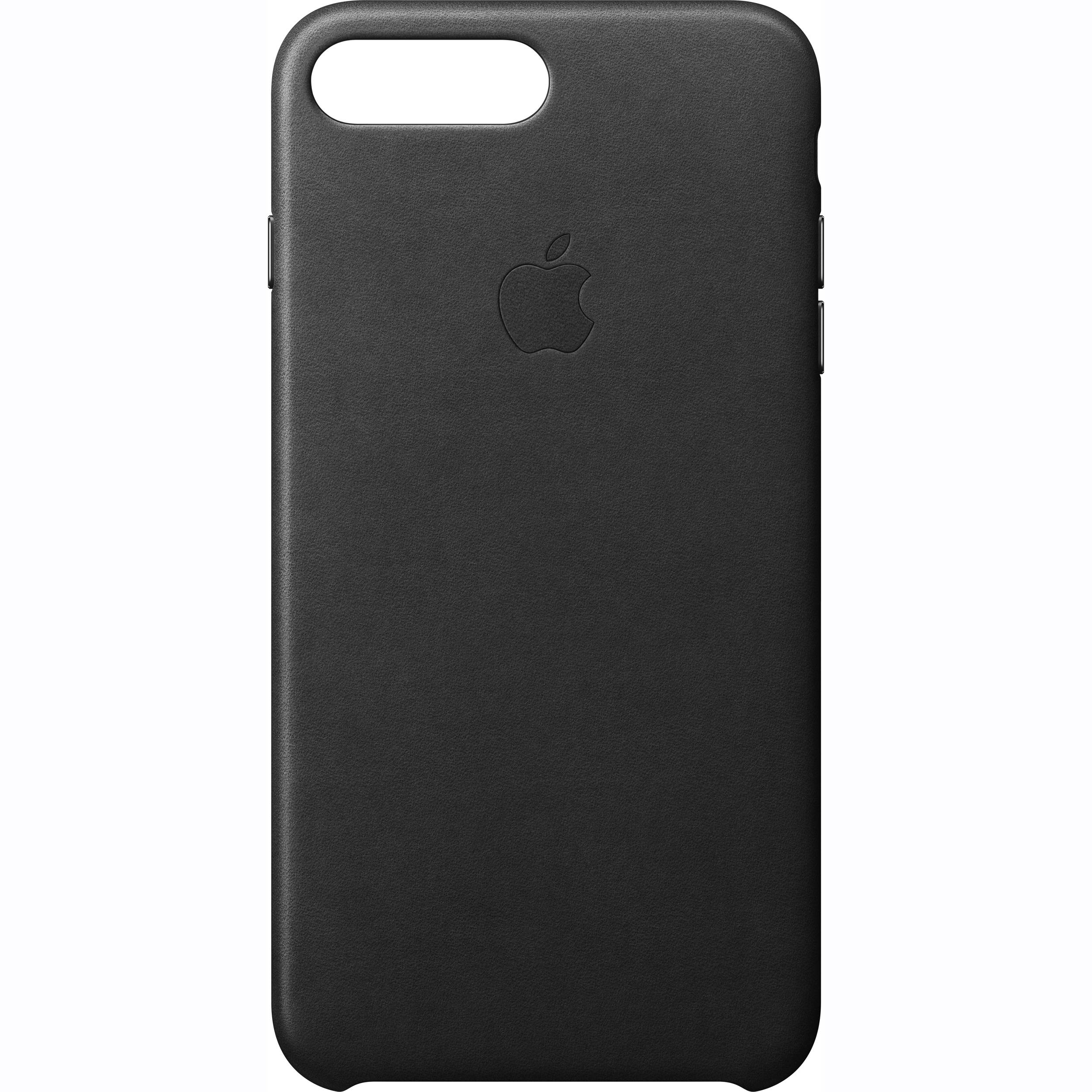 MMYJ2ZM/A Apple Kožený Kryt Black pro iPhone 7 Plus (EU Blister)