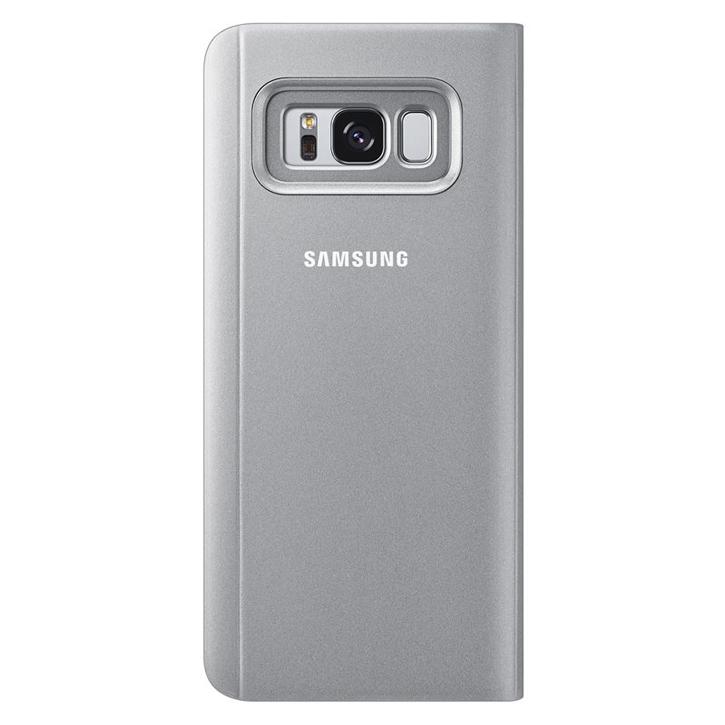 EF-ZG955CSE Samsung Clear View Case Silver pro G955 Galaxy S8 Plus (EU Blister)