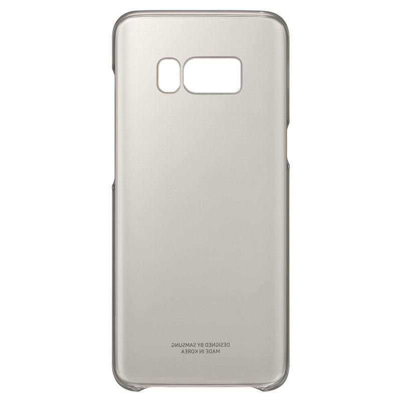 EF-QG950CFE Samsung Clear Cover Gold pro G950 Galaxy S8 (EU Blister)