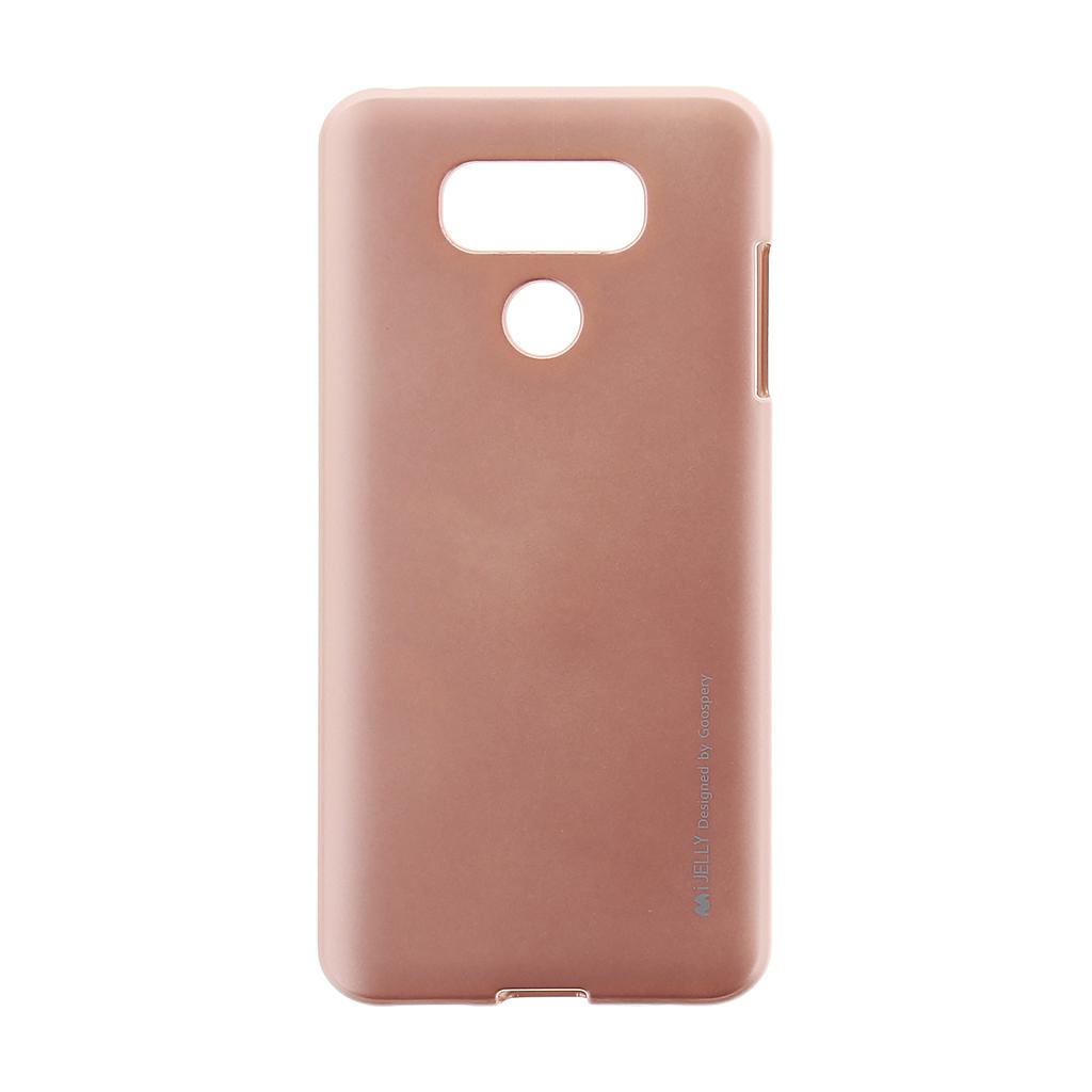 Mercury i-Jelly TPU Case pro LG H870 G6 Rose Gold