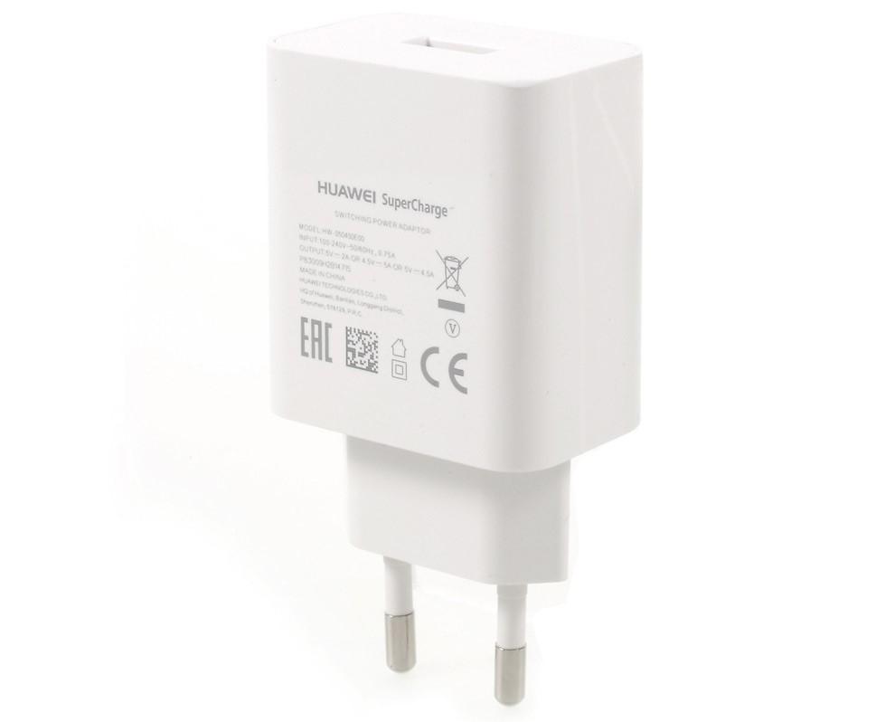 HW-050450E00 Huawei Super Charger USB Cestovní nabíječka White (Bulk)