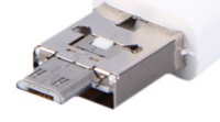 USAMS ZB021 Mobile Phone Fan USB/microUSB Black