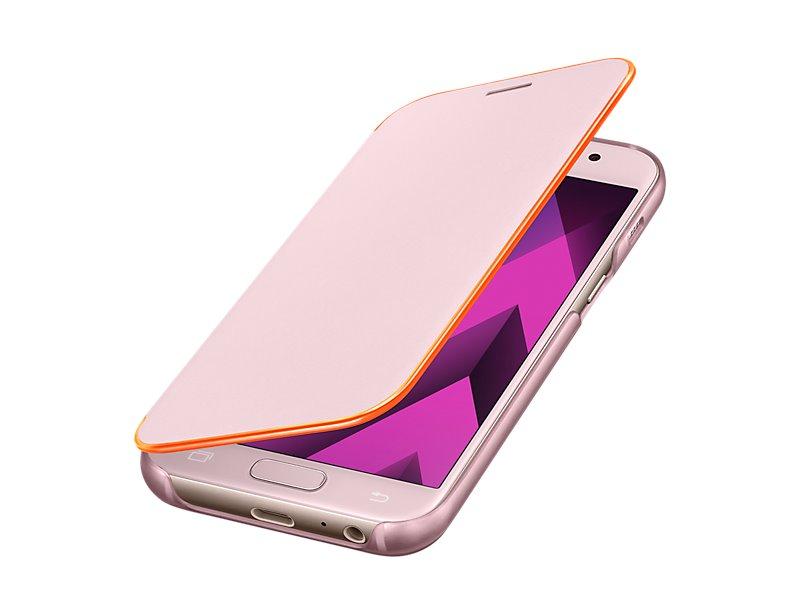 EF-FA320PPE Samsung Neon Flip Pouzdro Pink pro Galaxy A3 2017 (EU Blister)