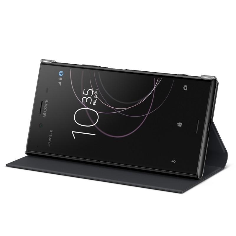 SCSG50 Sony Style Cover Flip pro Xperia XZ1 Black (EU Blister)