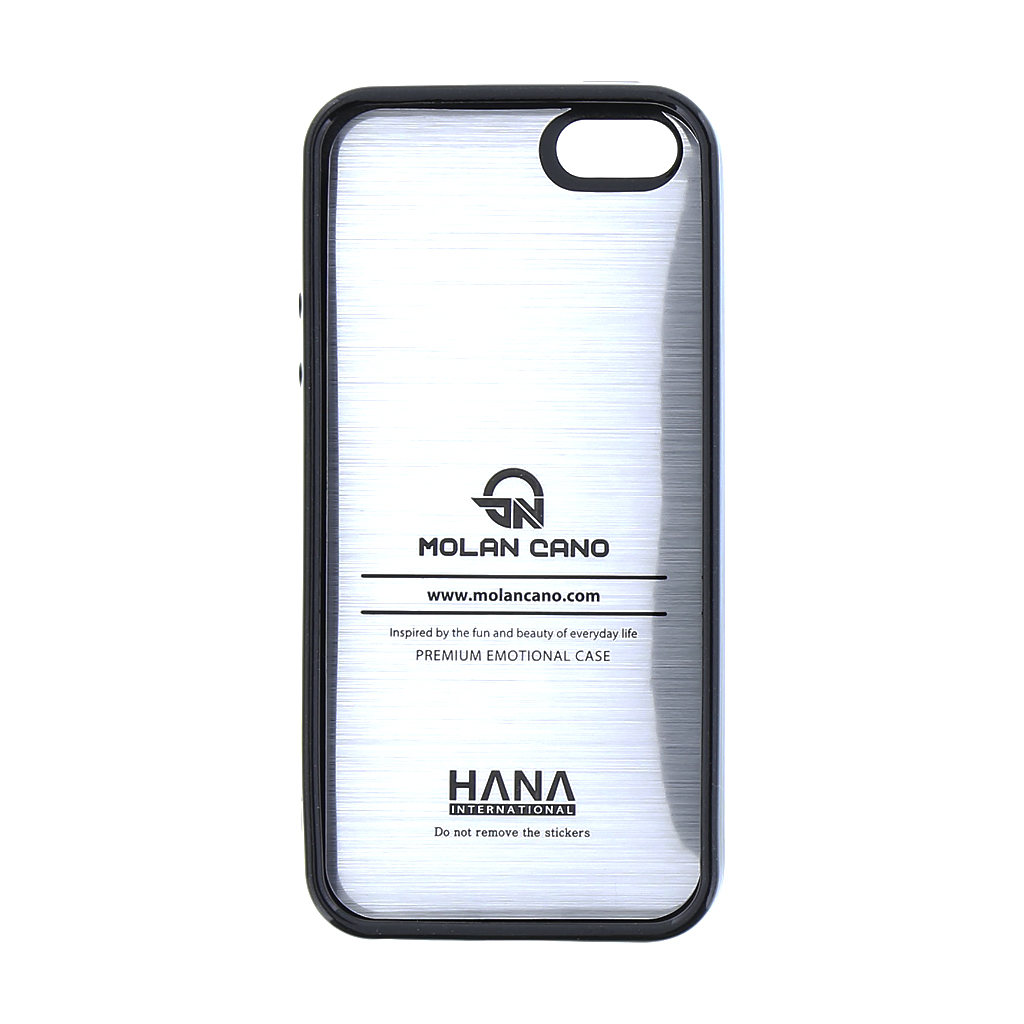 Molan Cano Jelly TPU Kryt pro iPhone 5/5S/SE Black