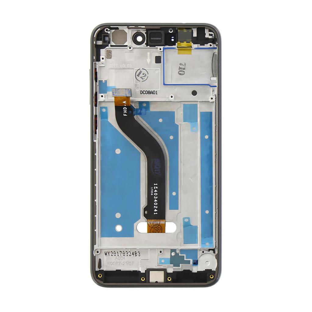 Huawei  P8/P9 Lite 2017 LCD Display + Dotyková Deska + Přední Kryt Black