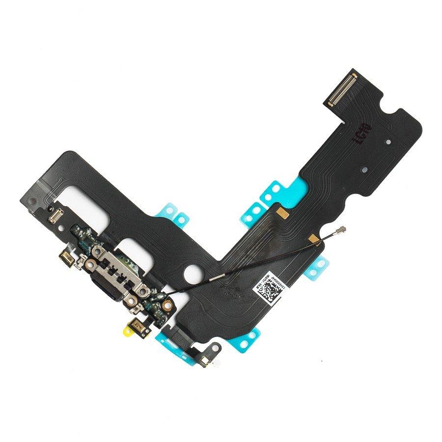 iPhone 7 Plus Flex Kabel vč. Dobíjecího Konektoru Black
