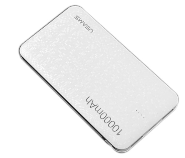 USAMS US-CD21 Power Bank 10000mAh White (EU Blister)