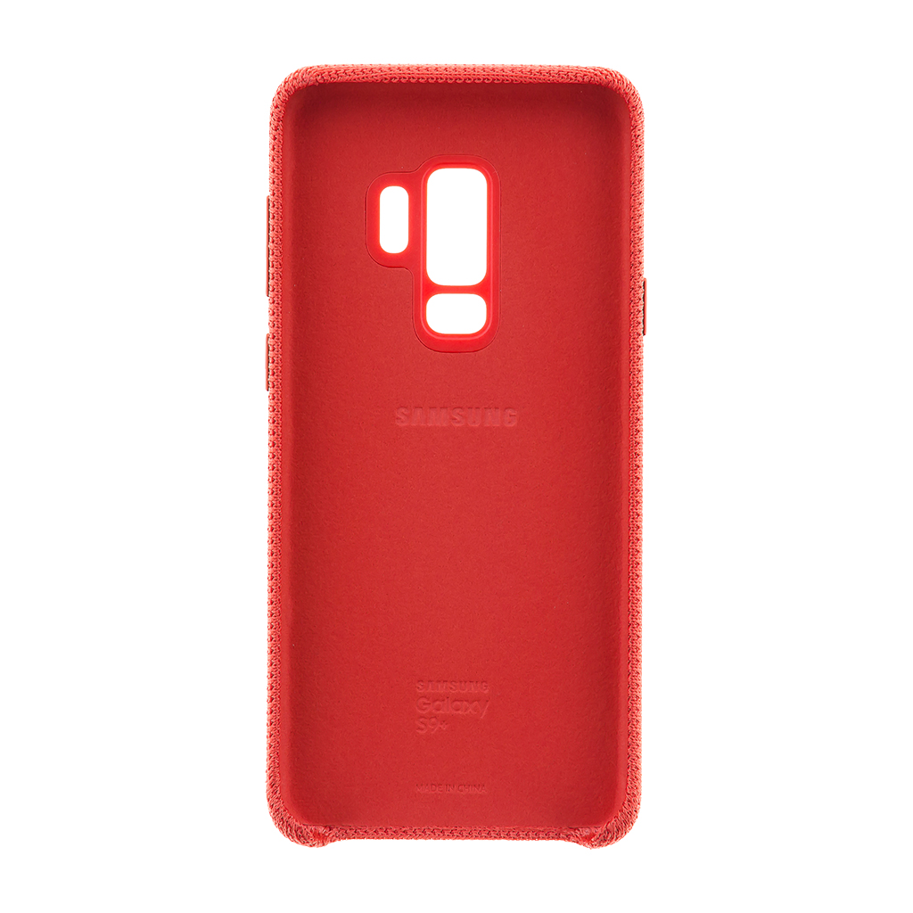 EF-GG965FRE Samsung Hyperknit Cover Red pro G965 Galaxy S9 Plus 8801643098728