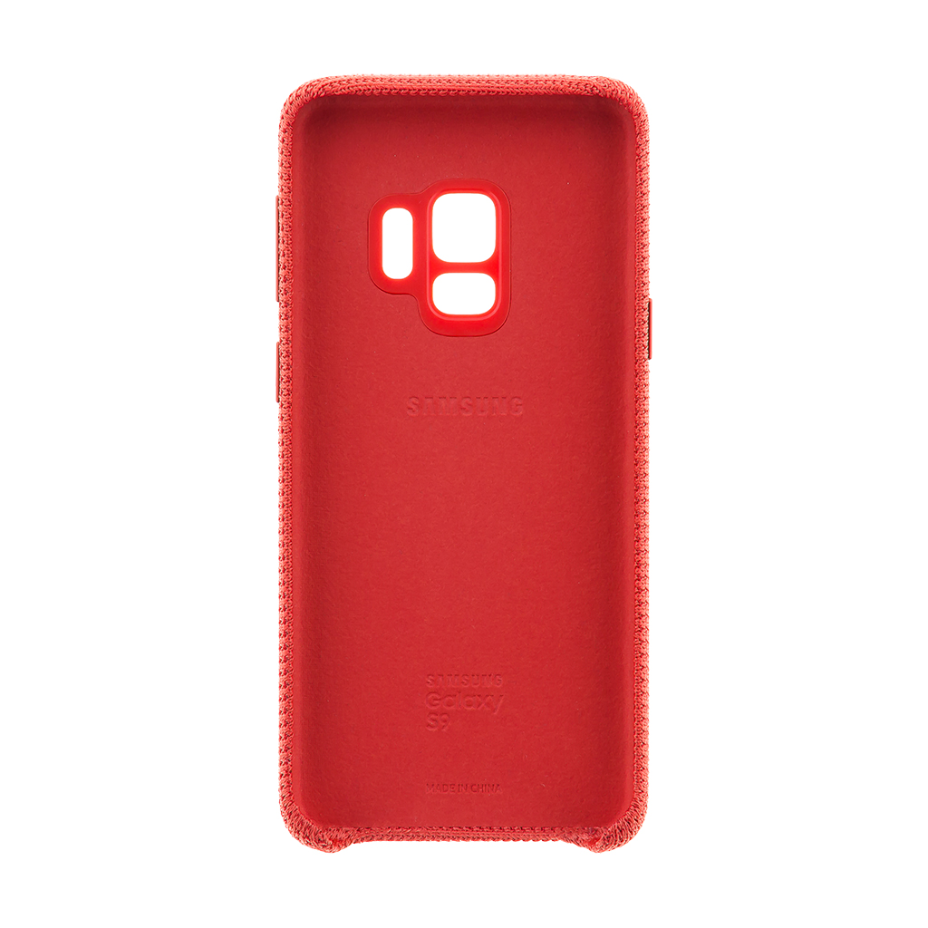EF-GG960FRE Samsung Hyperknit Cover Red pro G960 Galaxy S9 (EU Blister)