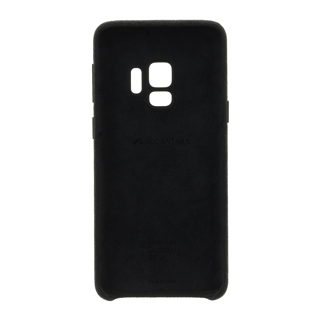 EF-XG960ABE Samsung Alcantara Cover Black pro G960 Galaxy S9 (EU Blister)