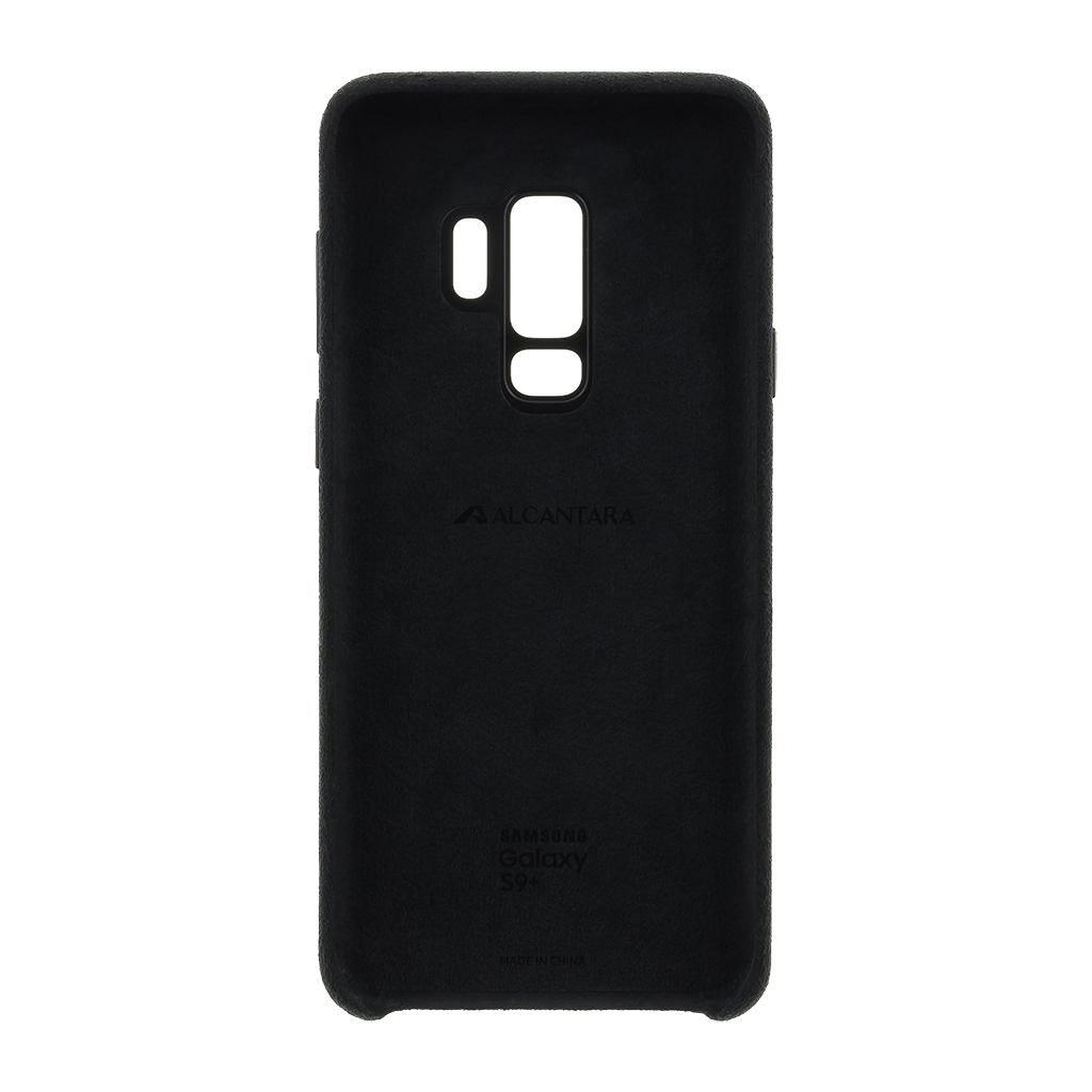 EF-XG965ABE Samsung Alcantara Cover Black pro G965 Galaxy S9 Plus (EU Blister)