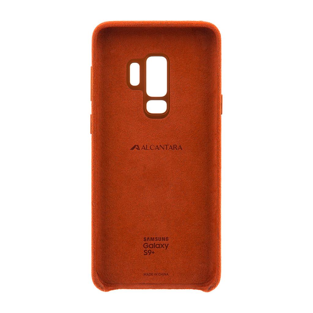 EF-XG965ARE Samsung Alcantara Cover Red pro G965 Galaxy S9 Plus (EU Blister)