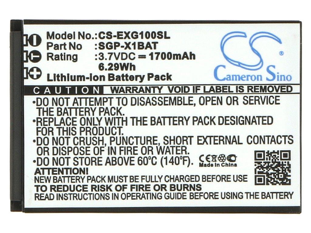 CS-EXG100SL Baterie 1700mAh Li-Pol pro Evolveo Strong X1