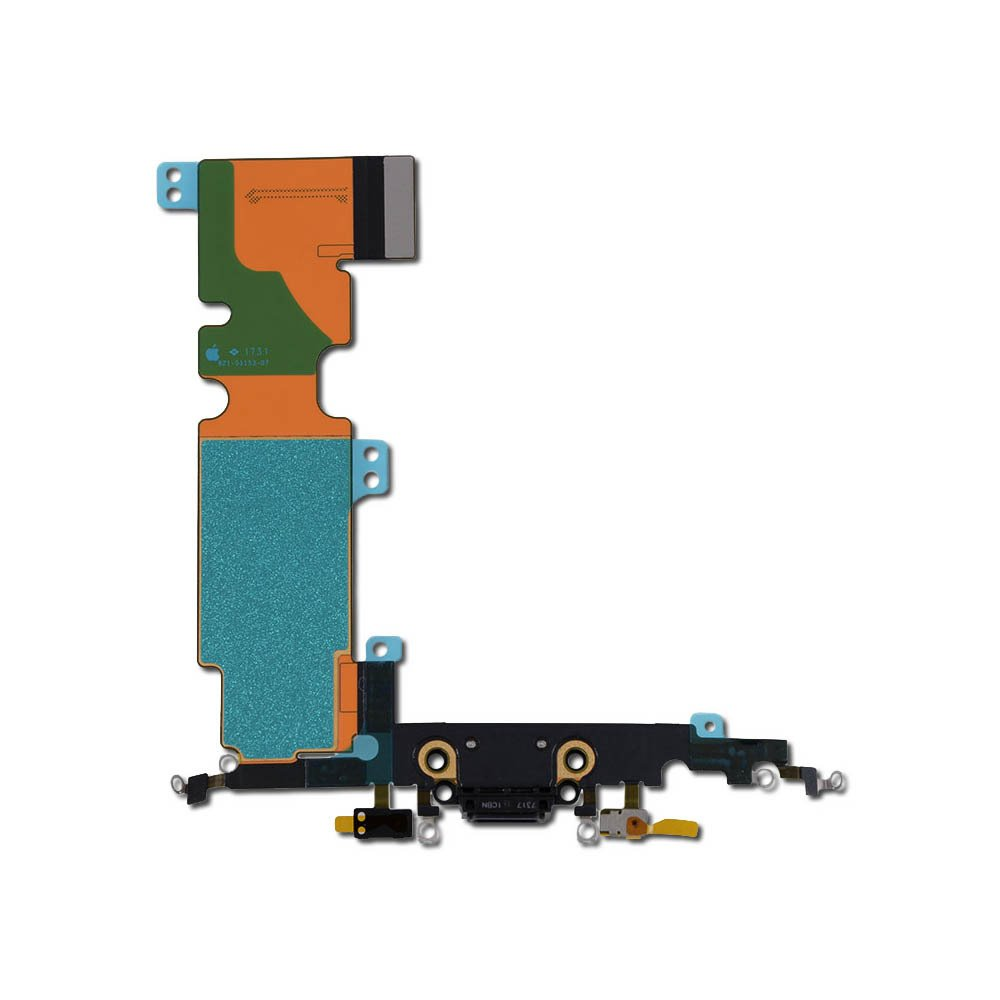 iPhone 8 Plus Flex Kabel vč. Dobíjecího Konektoru Black