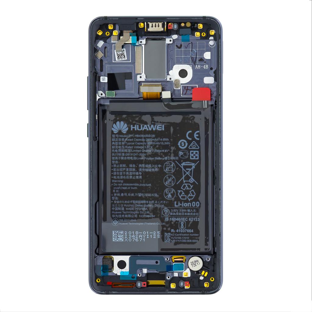 Huawei Mate 10 PRO LCD Display + Dotyková Deska + Přední Kryt Gray (Service Pack)