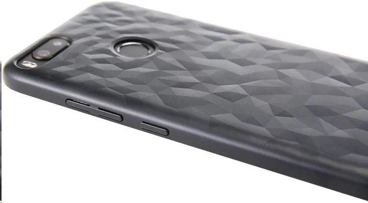 Xiaomi ATF4836GL Original Textured Hard Case Black pro A1 (EU Blister)