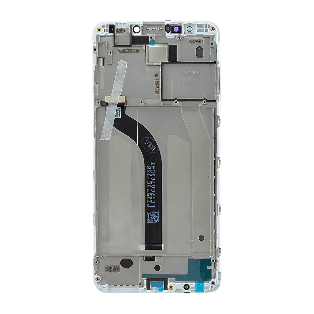 LCD Display + Dotyková Deska + Přední kryt pro Xiaomi Redmi 5 White