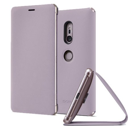 SCSH40 Sony Style Stand Cover pro Xperia XZ2 Pink (EU Blister)