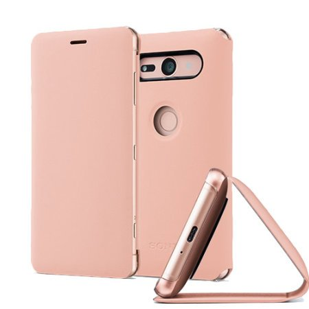 SCSH50 Sony Style Stand Cover pro Xperia XZ2 Compact Pink (EU Blister)