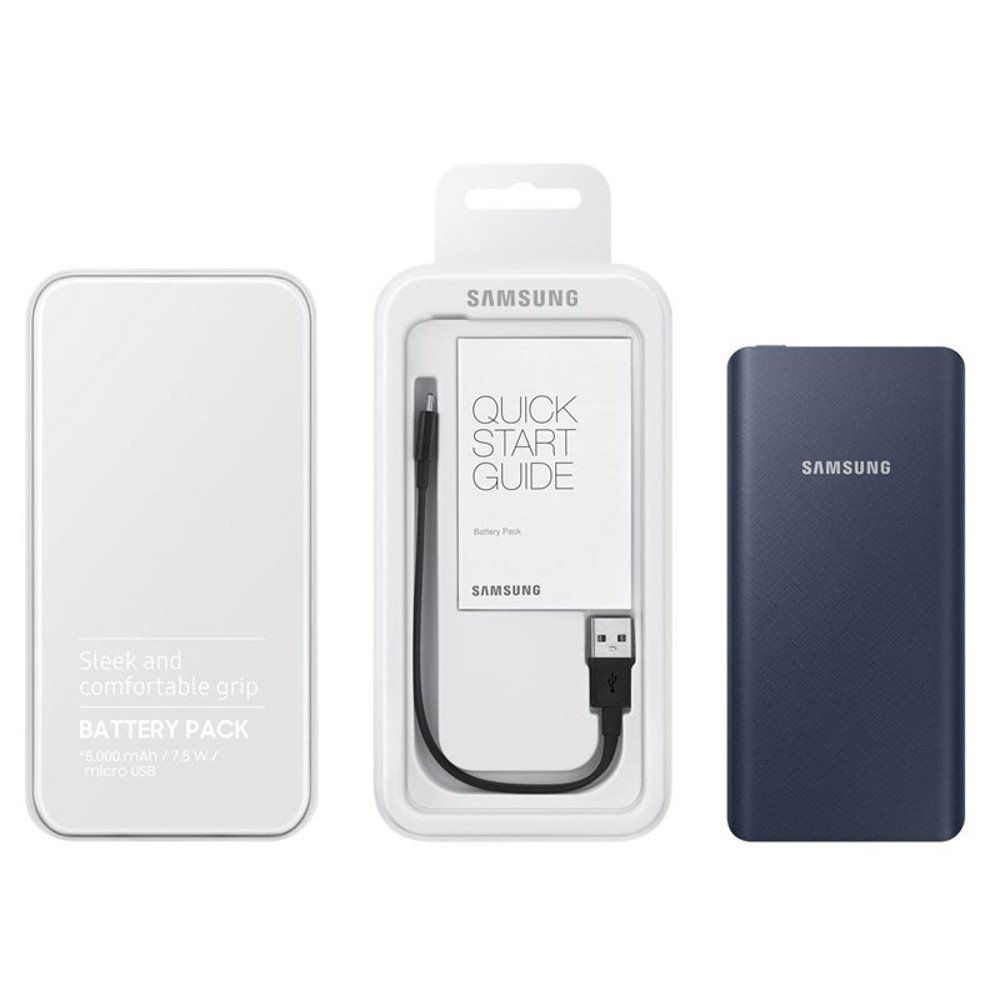 EB-P3020CNE Samsung Power Bank Tipo 5000mAh Navy (EU Blister)