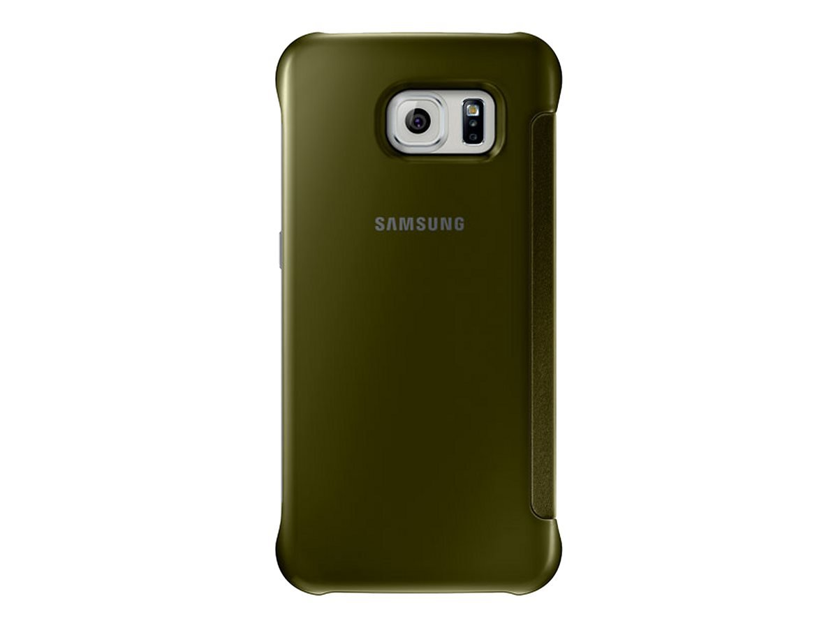 EF-ZG920BFE Samsung Clear View Pouzdro Gold pro G920 Galaxy S6 (EU Blister)