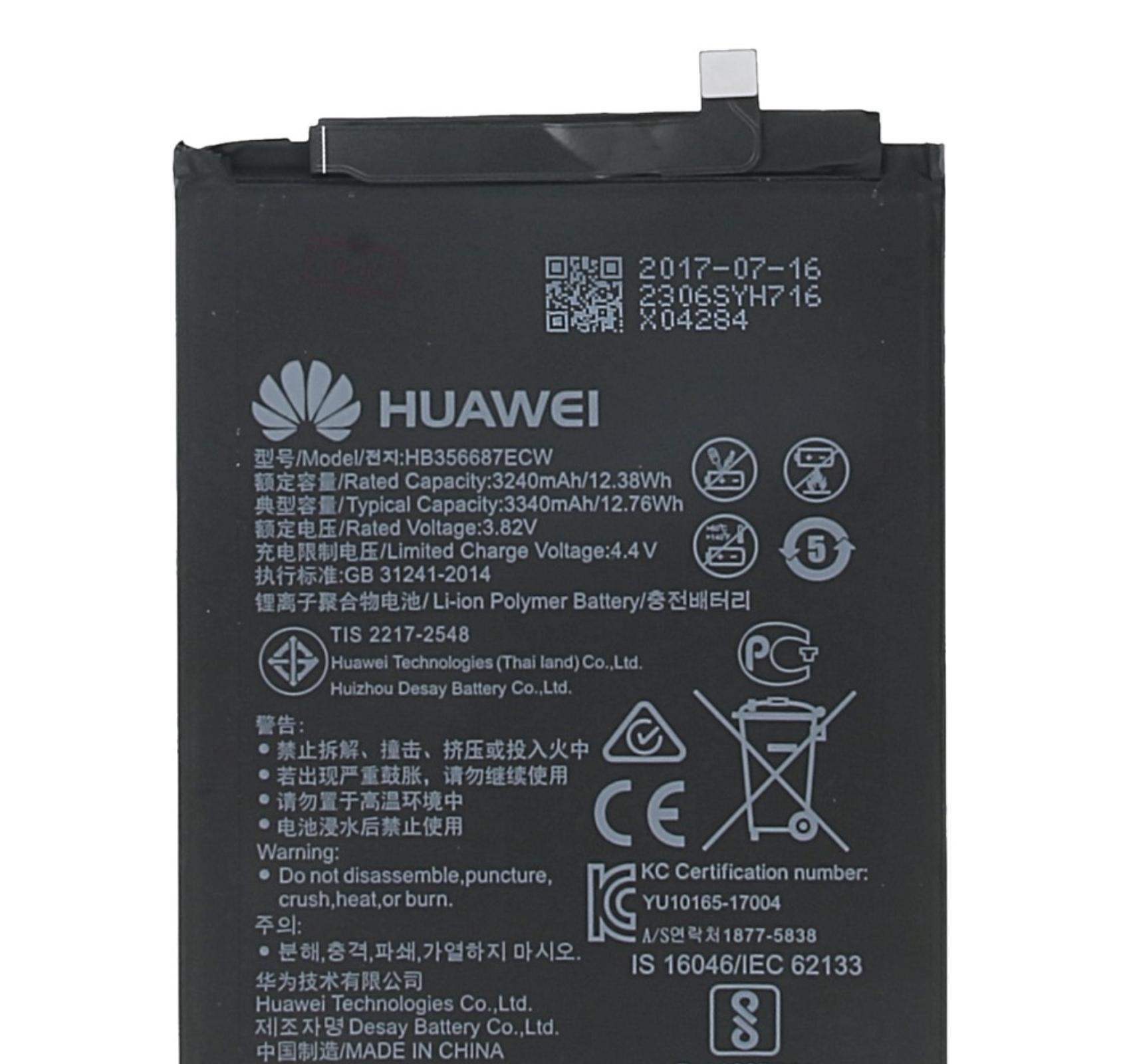 HB356687ECW Honor Baterie 3340mAh Li-Pol (Bulk)
