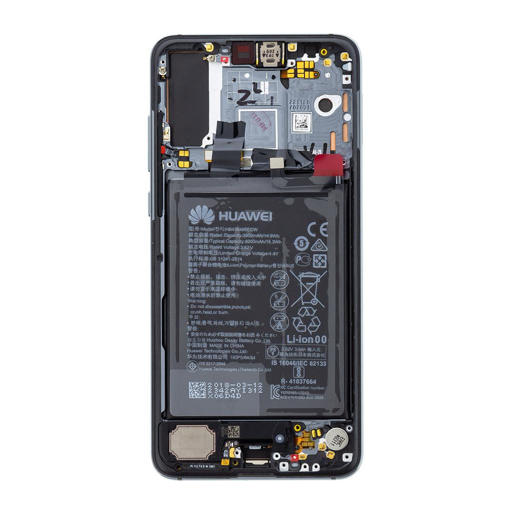 Huawei P20 Pro LCD Display + Dotyková Deska Blue (Service Pack)