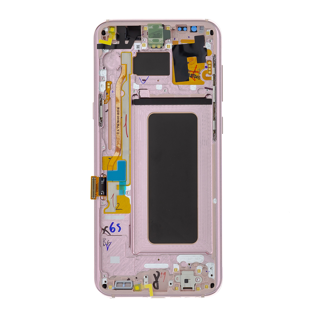 LCD display + Dotyk Samsung G955 Galaxy S8 Plus Pink (Service Pack)