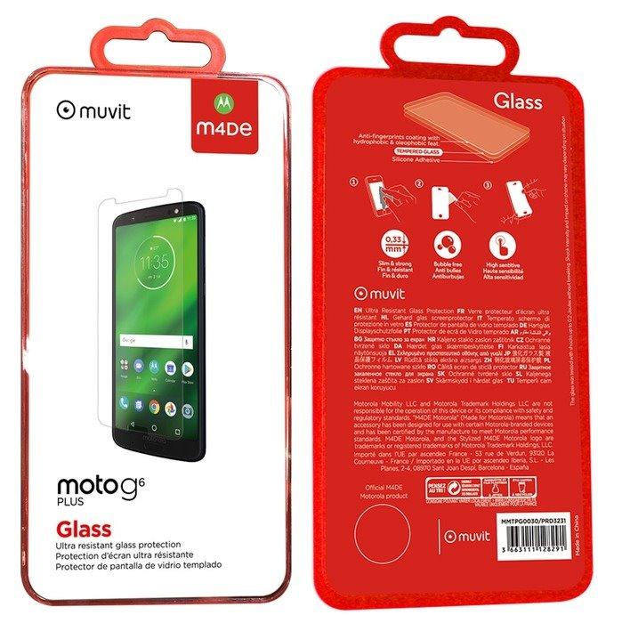 Made by Motorola Tvrzené sklo pro Motorola G6 (EU Blister)