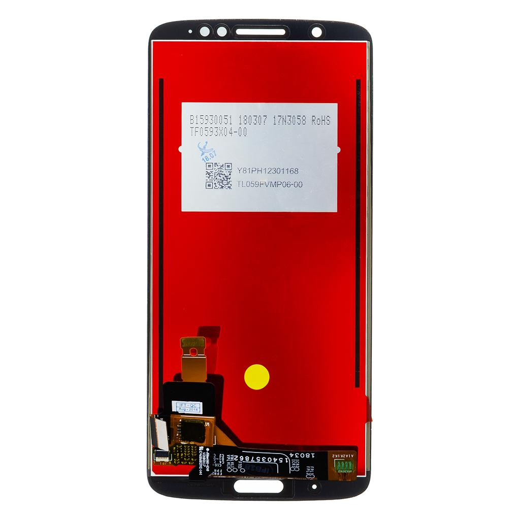 Motorola G6 Plus LCD Display + Dotyková Deska Black
