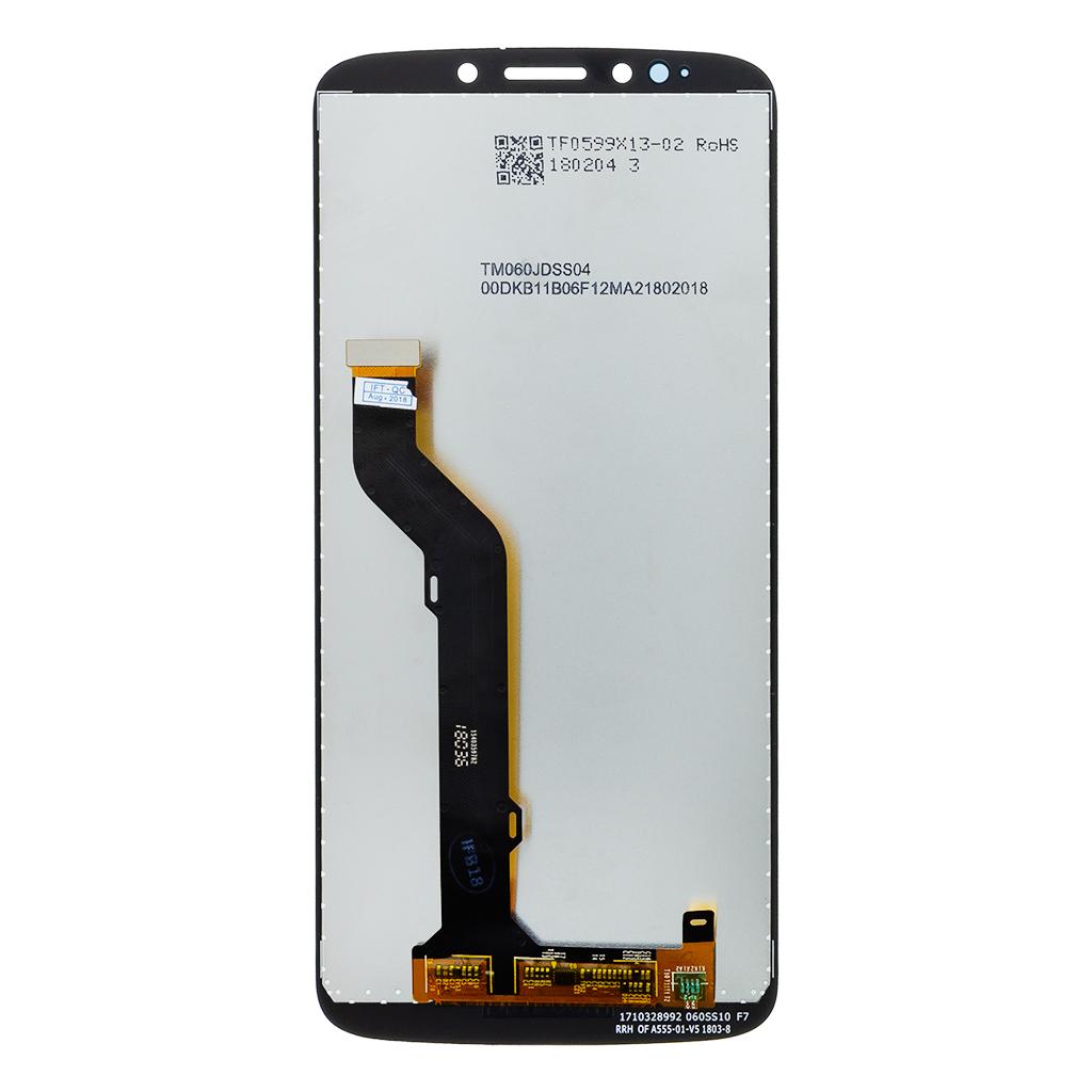 Motorola E5 Plus LCD Display + Dotyková Deska Black