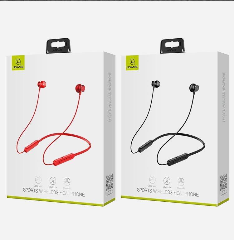 USAMS YD-S1 Sport Stereo Bluetooth Headset Black