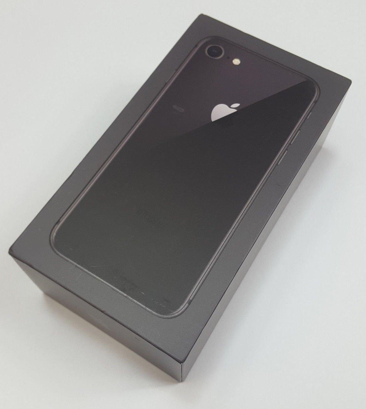 Apple iPhone 8 Grey Prázdný Box