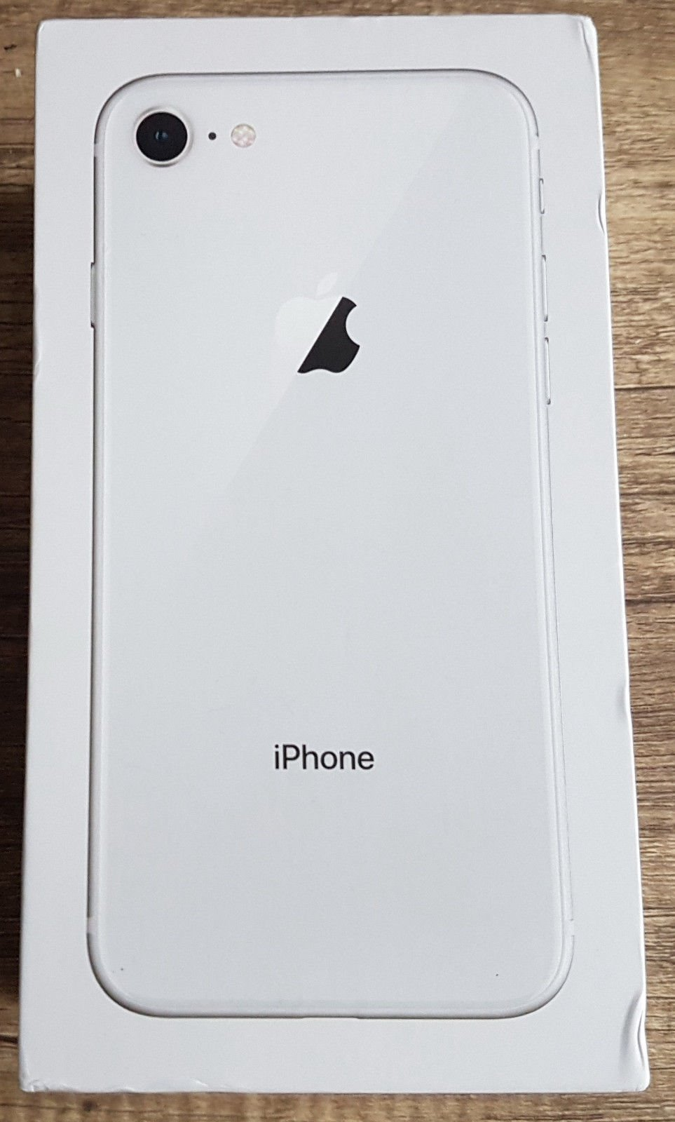 Apple iPhone 8 Silver Prázdný Box