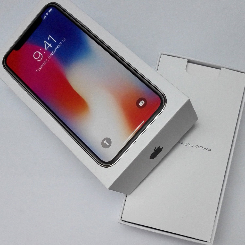 Apple iPhone X Grey Prázdný Box