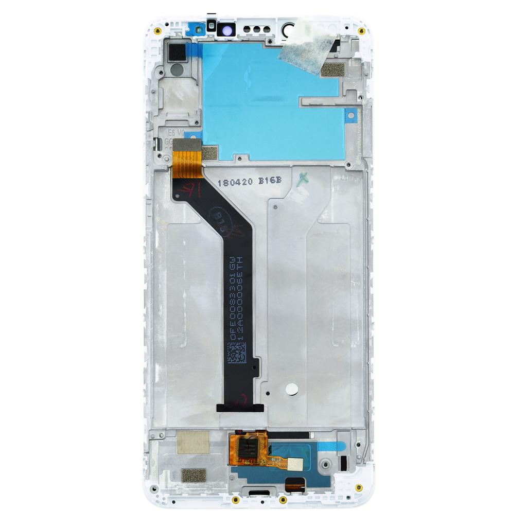 LCD Display + Dotyková Deska + Přední Kryt pro Xiaomi Redmi S2 White (Service Pack)