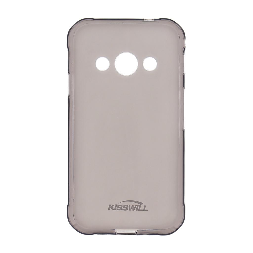 Kisswill TPU Pouzdro Black pro Motorola One
