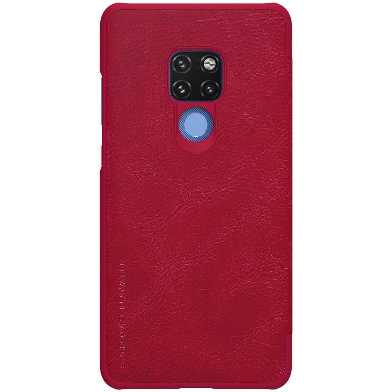 Nillkin Qin S-View Pouzdro Red pro Huawei Mate 20
