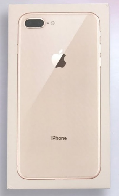 Apple iPhone 8 Plus Gold Prázdný Box