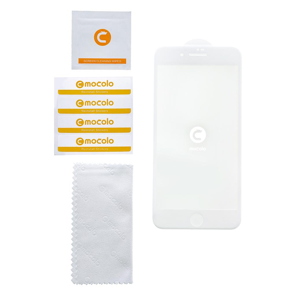Mocolo 5D Tvrzené Sklo White pro Xiaomi Redmi Note 6 Pro